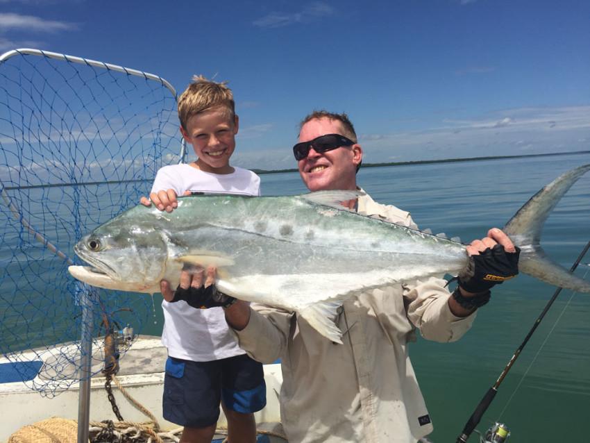 paul kid fishing